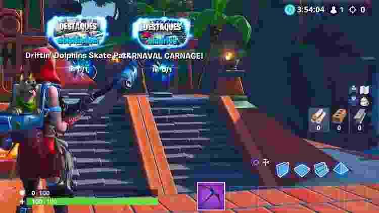 A ilha está em destaque logo após a escada, junto com as outras. - Reprodução/GameHall