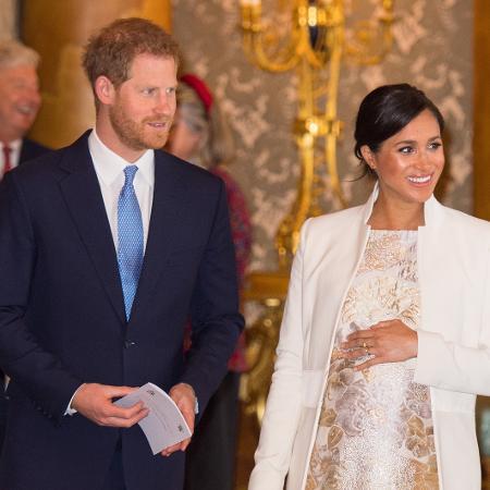 Príncipe Harry e Meghan Markle: filho deve nascer em abril - Getty Images