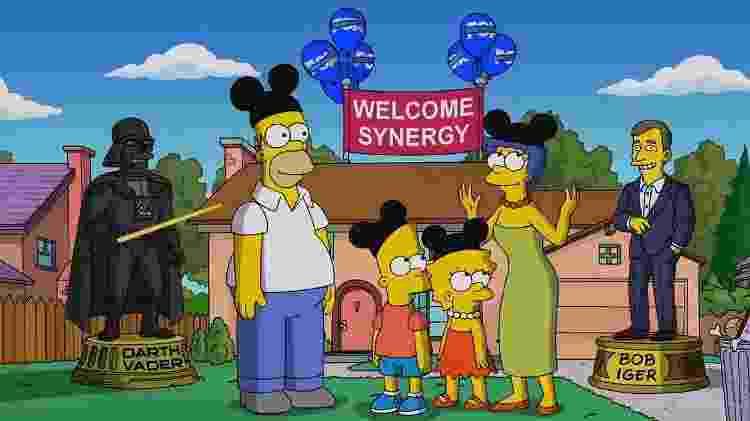 """""""Os Simpsons"""" estarão com todas as temporadas no Disney +, serviço de streaming da Disney - Reprodução/Twitter"""
