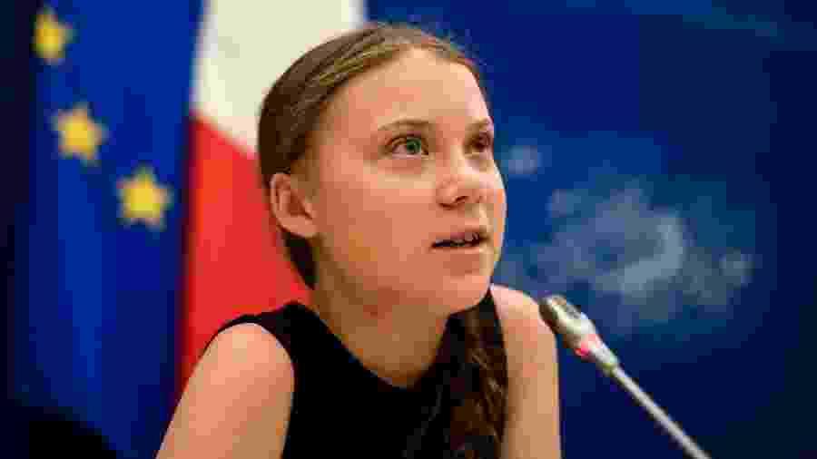 A ativista Greta Thunberg - Lionel Bonaveture/AFP