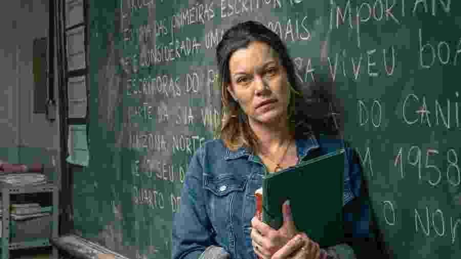 Hermila Guedes como Sônia em Segunda Chamada - Globo/Mauricio Fidalgo