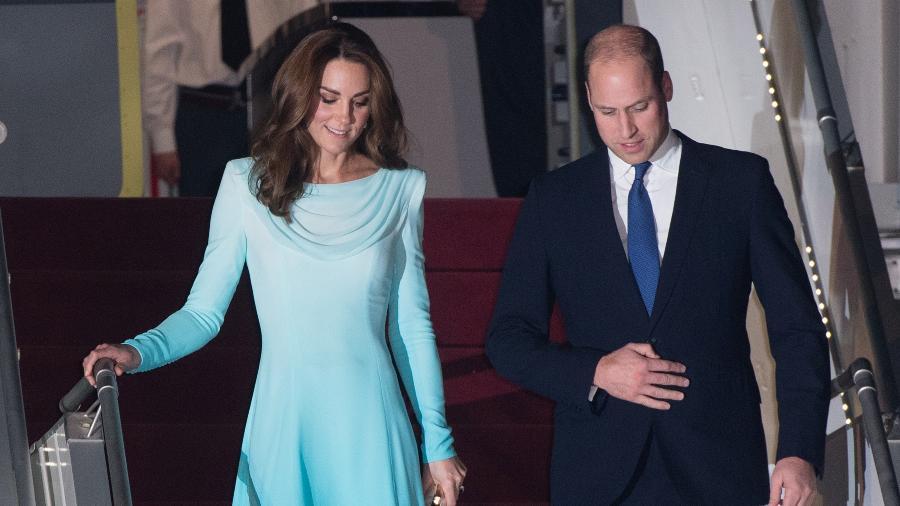 A duquesa Kate Middleton e o príncipe William chegam ao Paquistão - Samir Hussein/WireImage