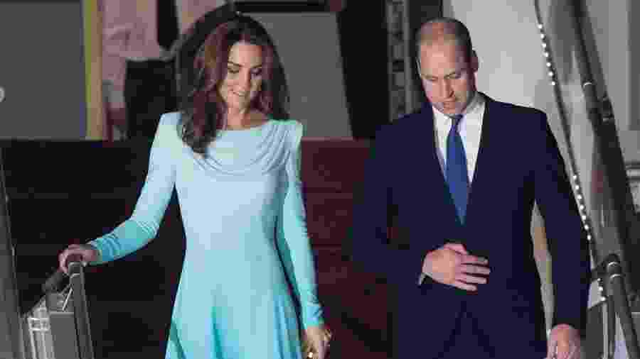 A duquesa Kate Middleton e o príncipe William chegam ao Paquistão - Samir Hussein/WireImage