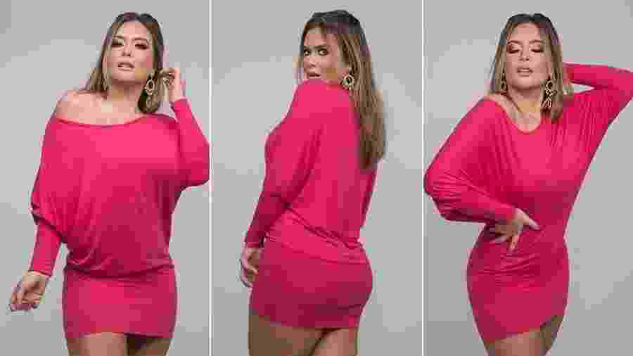Geisy Arruda com vestido de 2009 - Cauê Garcia / CG Comunicação / Divulgação