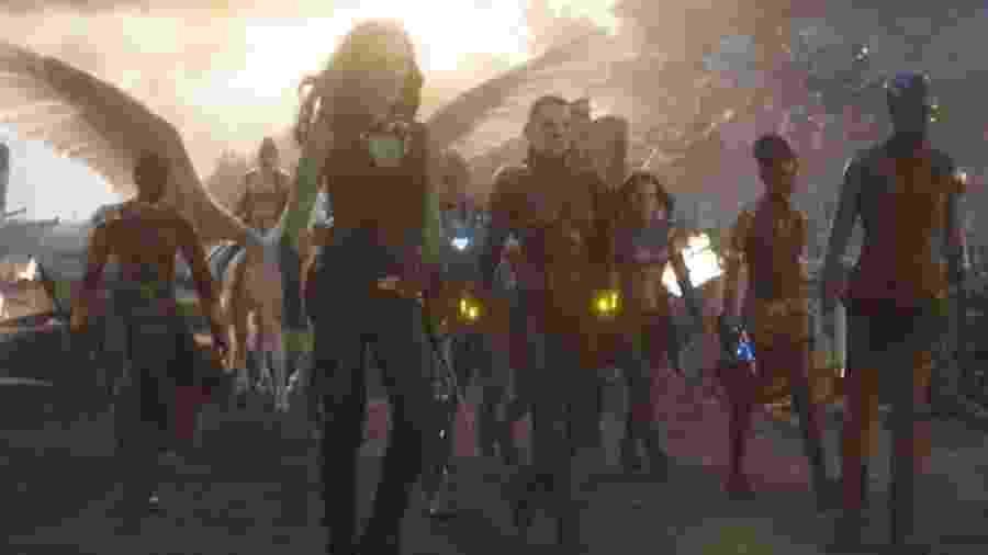 Algumas pessoas acham que o personagem trans está relacionado à personagem Valkyrie, interpretada pela atriz Tessa Thompson - Marvel Studios via BBC