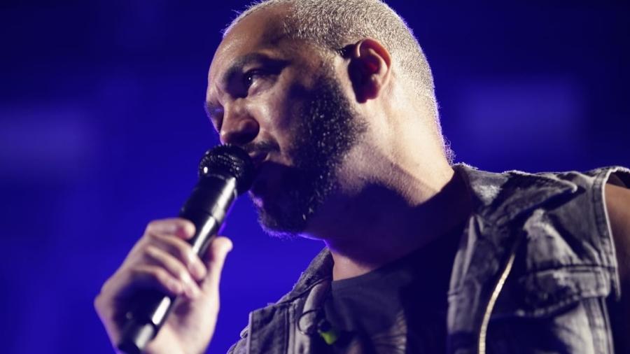 O cantor Belo foi preso após show no Complexo da Maré, no Rio de Janeiro - Ricardo Borges/UOL