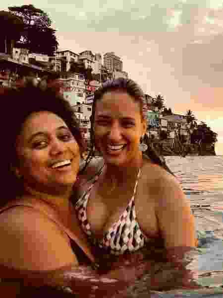 Marina Íris recebe homenagem de aniversário de Mônica Benício - Reprodução/Instagram