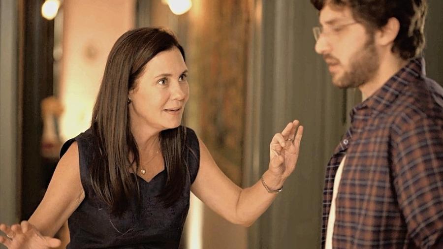 Thelma (Adriana Esteves) em Amor de Mãe - REPRODUÇÃO/REDE GLOBO