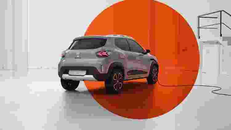 Dacia Spring Concept 2 - Divulgação - Divulgação