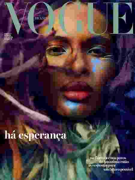 Emilly na capa da Vogue de setembro - Reprodução - Reprodução