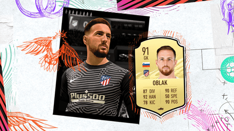 Oblak FIFA 21 - Divulgação/EA - Divulgação/EA