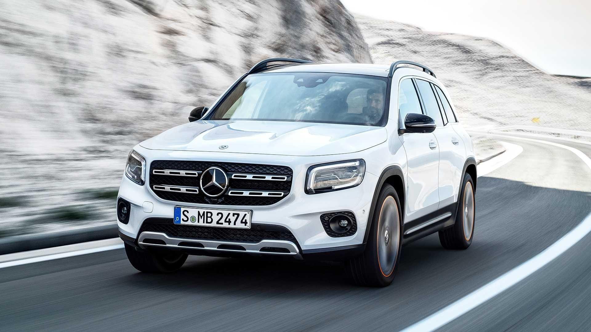 Mercedes Benz Glb Suv De 7 Lugares Chega Ao Pais Por R 299 900 21 10 2020 Uol Carros