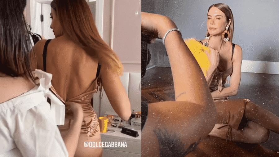 """Luciana Gimenez passou por momentos """"tensos"""" para conseguir fechar vestido de grife italiana - Reprodução/Instagram/@lucianagimenez"""