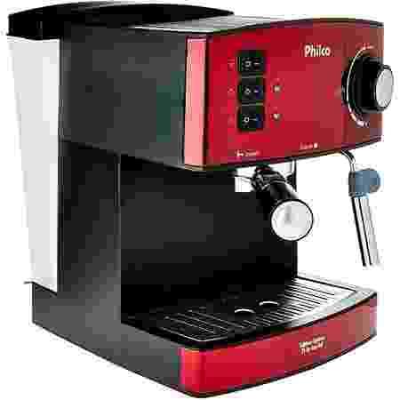Cafeteira, Expresso 20 bar, 2 xícaras, Vermelho, 220V, Philco - Divulgação - Divulgação