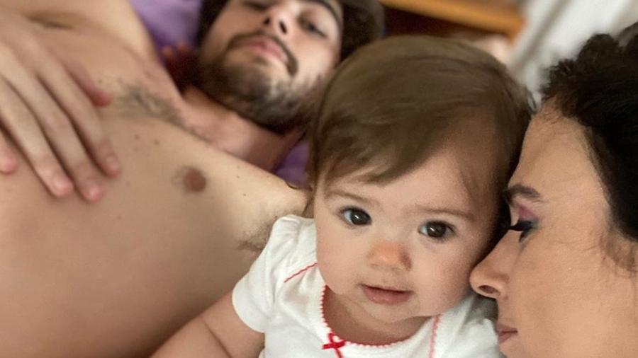 Tatá Werneck publicou foto com a filha, Clara Maria, e se derreteu - Reprodução/Instagram