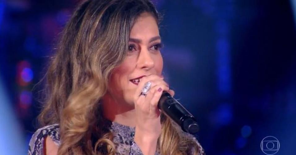 Sofia Moreno foi eliminada na terceira noite da Rodada de Fogo