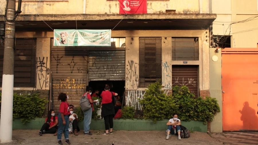 Casa de Referência da Mulher Laudelina de Campos Melo, no Canindé, centro de SP - Divulgação