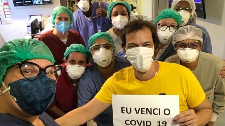 Heitor Martinez recebeu alta hospitalar - Divulgação