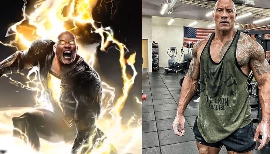 The Rock será Adão Negro em novo filme da DC  - Reprodução/Instagram