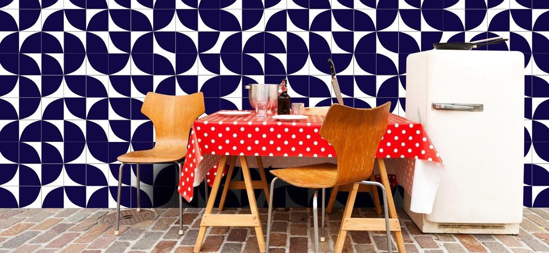 Os azulejos deixaram de ser apenas um revestimentos para serem adotados como protagonistas na decoração - Reprodução