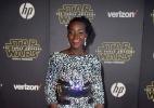 """Elenco de """"Star Wars"""" comparece à première mundial do novo filme da saga - Kevork Djansezian /REUTERS"""