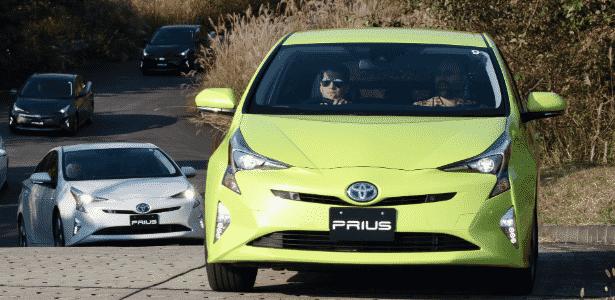 Nova geração do Prius é primeiro modelo da plataforma TNGA, que dará origem metade dos projetos da Toyota até 2020 - Divulgação - Divulgação