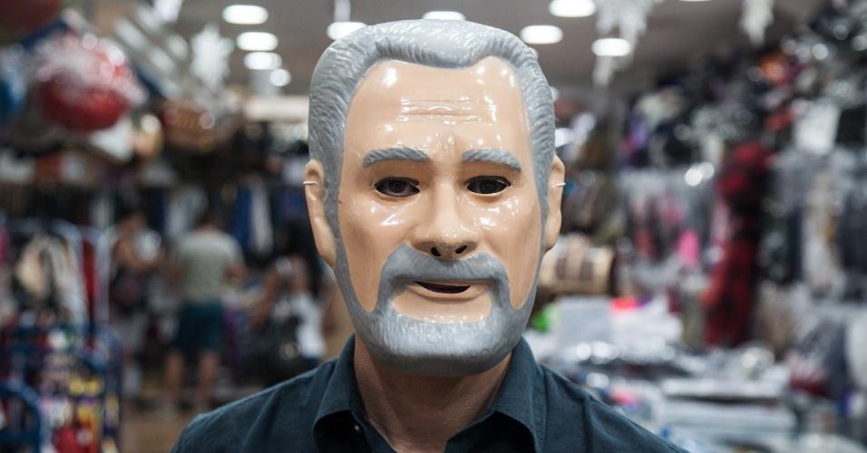 A máscara do José Genuíno custa R$ 7 na loja Porto das Festas e Fantasias (Ladeira Porto Geral, 88 ? Centro/ SP)