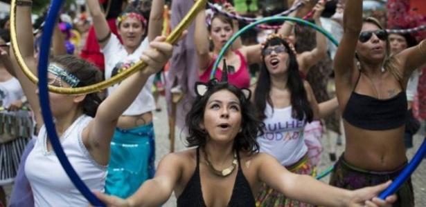 Bloco das Mulheres Rodadas reuniu 3.000 pessoas no Rio em 2015