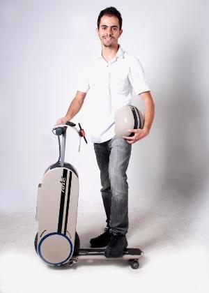 Allan Tolentino, criador do Rolé, veículo pensado para ser prático e elétrico - Divulgação