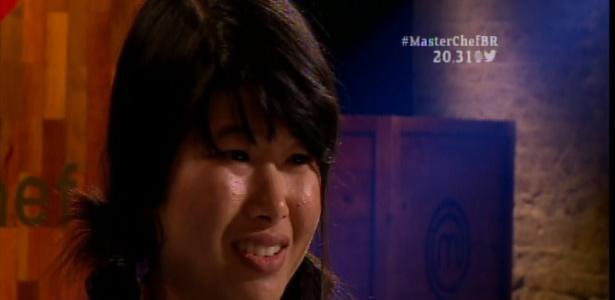 """A tailandesa Yukontorn Tapabutt tenta uma vaga na terceira temporada do """"MasterChef Brasil"""""""" - Reprodução/Band"""