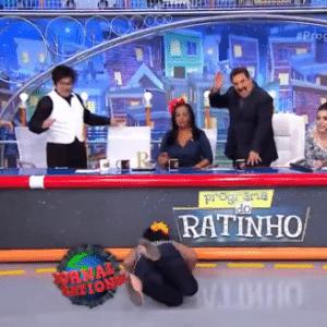 22.jul.2016 - Ratinho - Reprodução/SBT