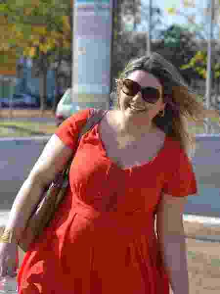 """""""Não é porque eu sou gorda que minha saúde é um lixo"""", garante Sylvia - Arquivo pessoal - Arquivo pessoal"""