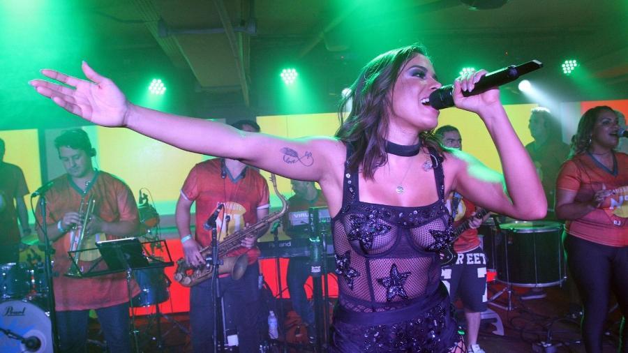 Anitta se apresentará durante o Desfile das Campeãs do Rio no Camarote N1 apresentado por CarnaUOL, na Sapucaí - Thyago Andrade/Brazil News