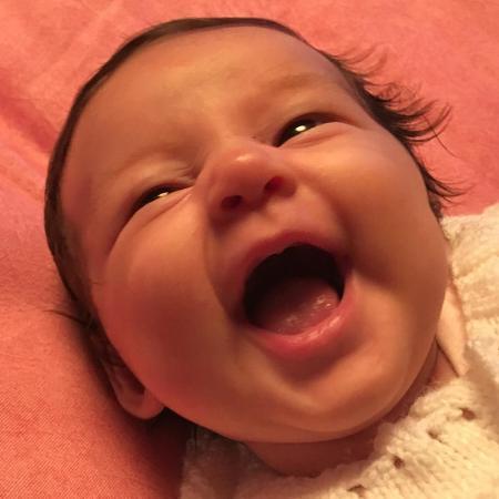 Madalena, filha de Yanna Lavigne e Bruno Gissoni - Reprodução/Instagram
