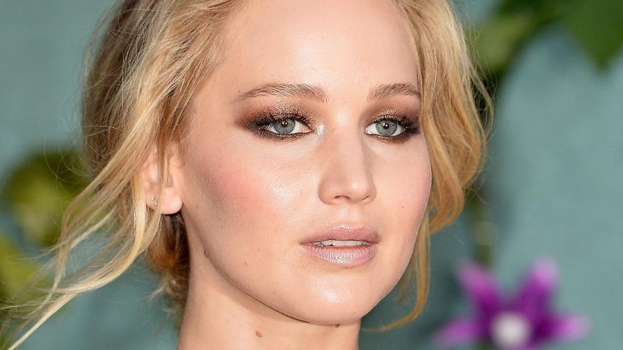 "Jennifer Lawrence na première de ""Mother!"" no Reino Unido - Getty Images"