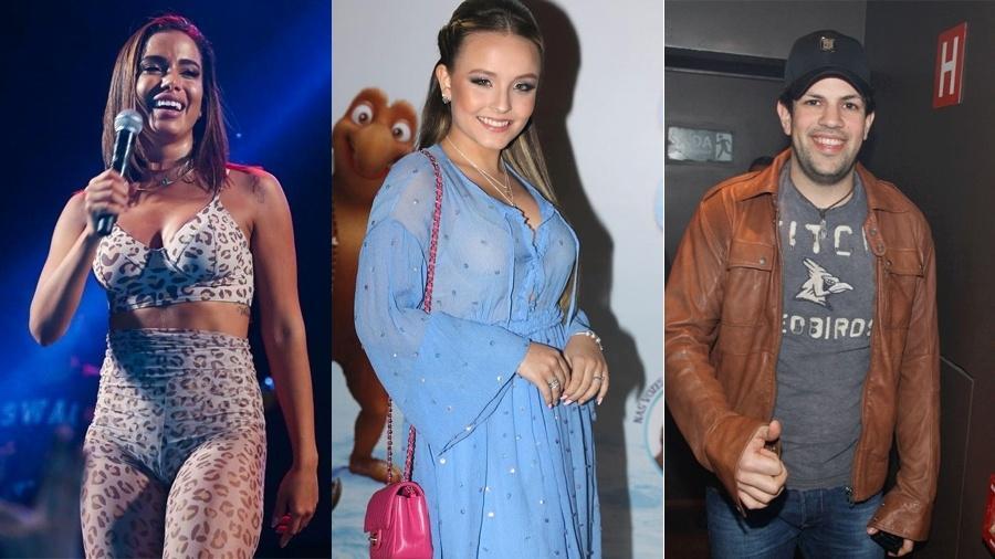 Anitta, Larissa Manoela e Sorocaba emagreceram com ajuda de Mayra Cardi - Reprodução/Instagram/Agnews