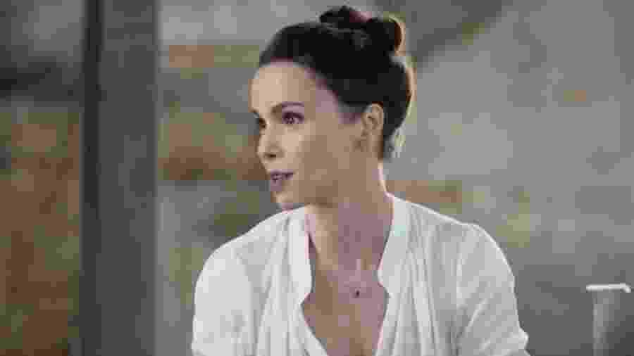 """Débora Falabella no programa """"Bipolar Show"""" - Reprodução/TV Globo"""