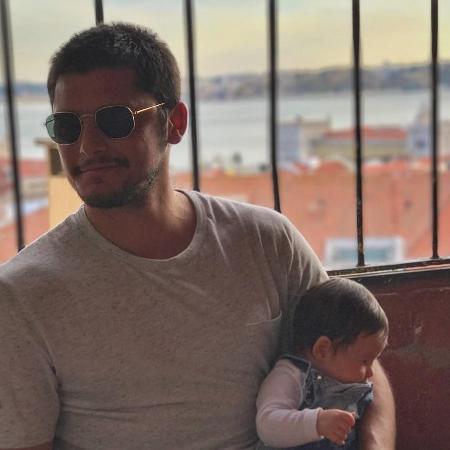 Bruno Gissoni com Madalena - Reprodução/Instagram
