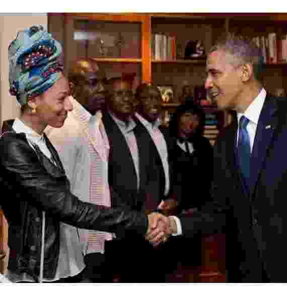 Em 2013, conheceu Barck Obama - Reprodução/Instagram