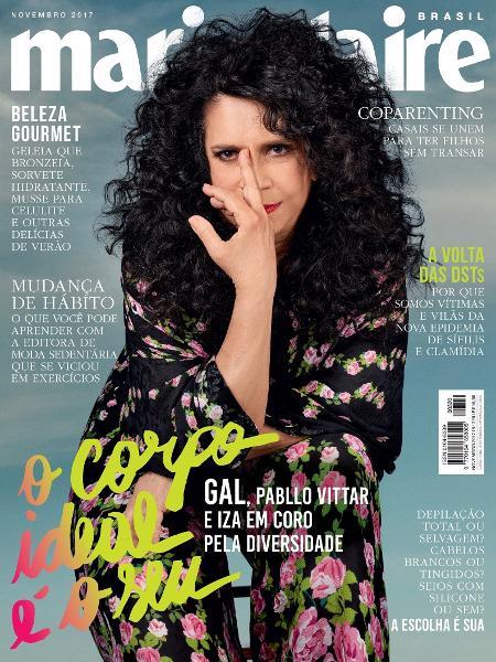 Gal Costa endossa campanha #OCorpoIdealÉoSeu da publicação - Divulgação
