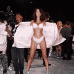 Bastidores do Victoria's Secret Fashion Show em Xangai, na China - Reprodução/Instagram