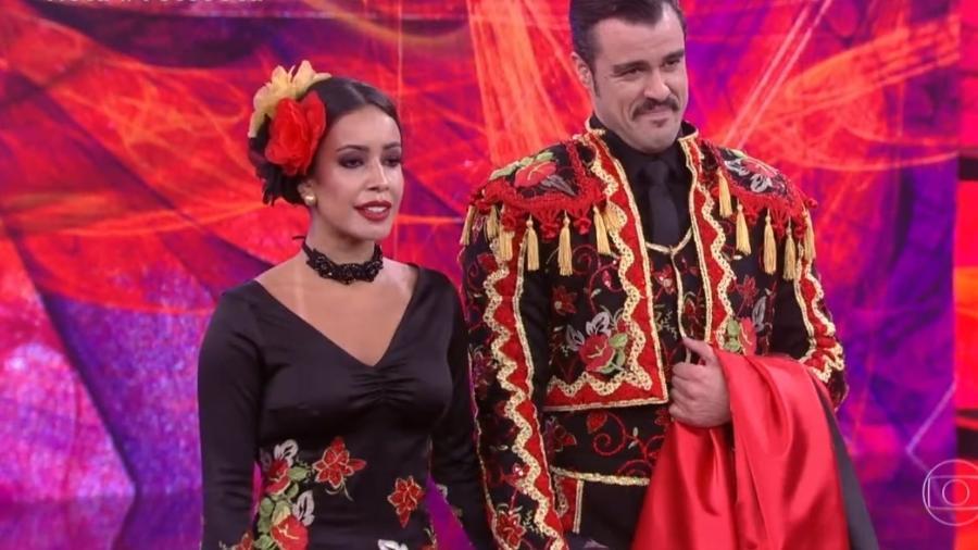 """Joaquim Lopes foi o eliminado na """"Dança dos Famosos"""" deste domingo (26) - Reprodução/TV Globo"""