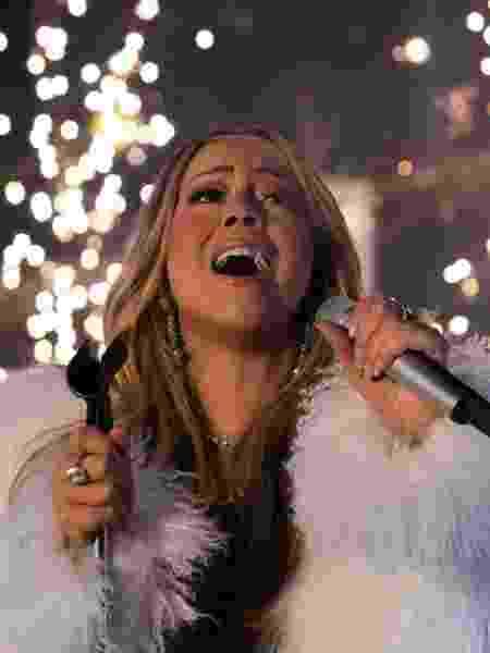 Mariah Carey colaborou com pedido de casamento - AFP