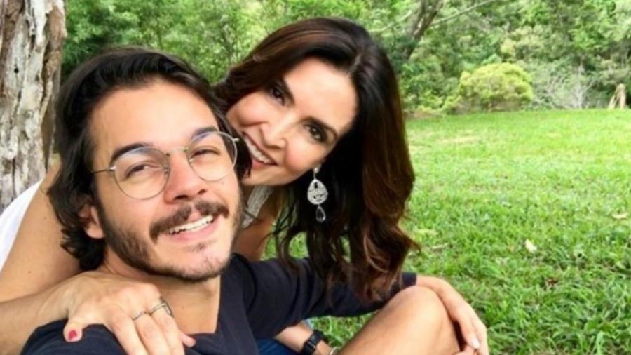 Túlio Gadêlha e Fátima Bernardes - Reprodução/Instagram/tulio.gadelha