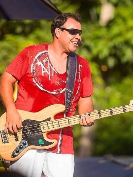 Lelo Lobão, ex-baixista do Chiclete com Banana - Divulgação