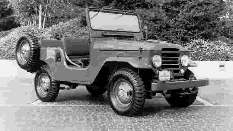 Toyota Land Cruiser FJ40 1961 - Divulgação - Divulgação
