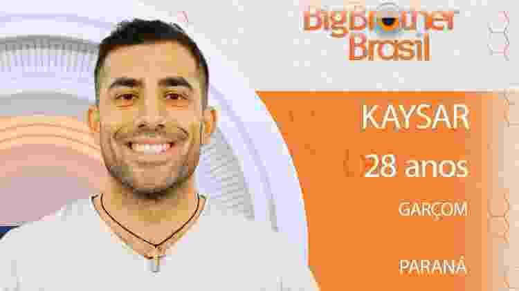 Kayson do BBB18 - Divulgação/TV Globo - Divulgação/TV Globo