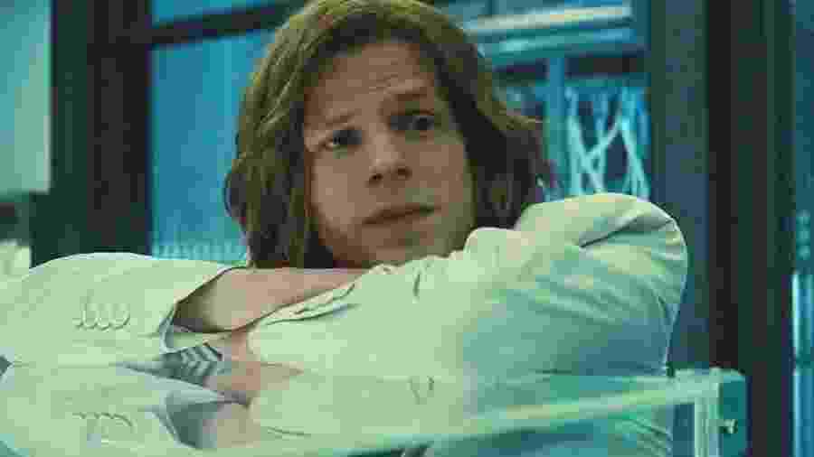 """Jesse Eisenberg como Lex Luthor em """"Batman vs Superman: A Origem da Justiça"""" - Reprodução"""