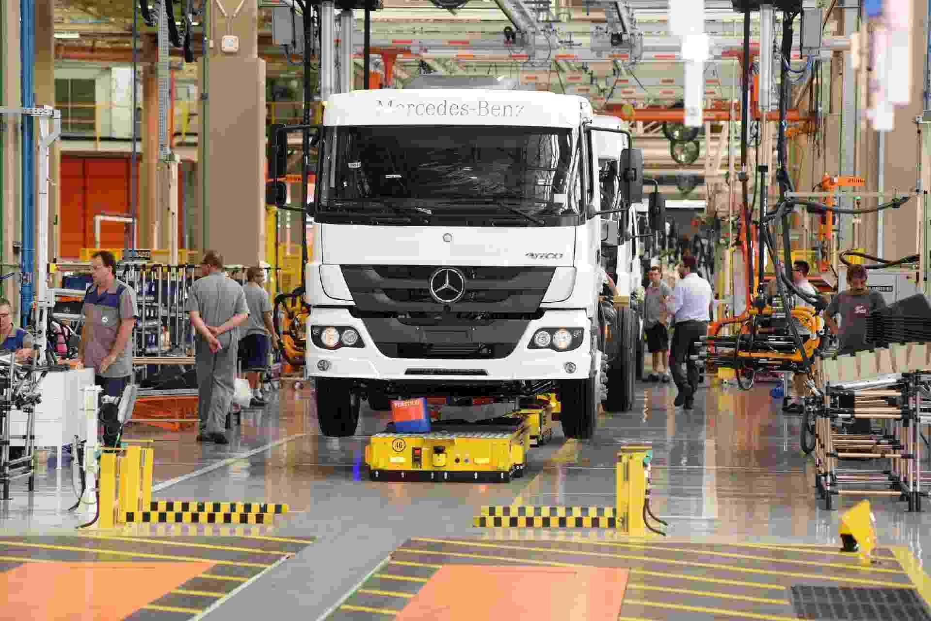 Fábrica 4.0 Mercedes-Benz - Murilo Góes/UOL