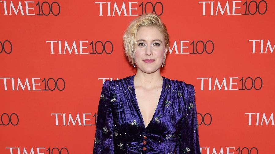 A diretora Greta Gerwig indicada ao Oscar de melhor diretora em 2018 - Getty Images